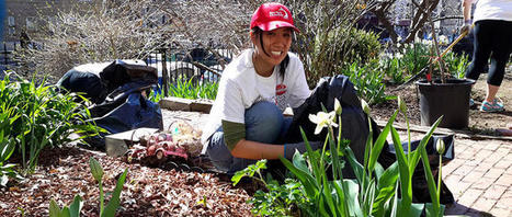 Community Gardens Bring Peace, Quiet, and Happiness to Urban Spaces | jardins partagés | Scoop.it