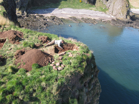 Earliest Pictish fort yet discovered was situated on sea stack | LVDVS CHIRONIS 3.0 | Scoop.it