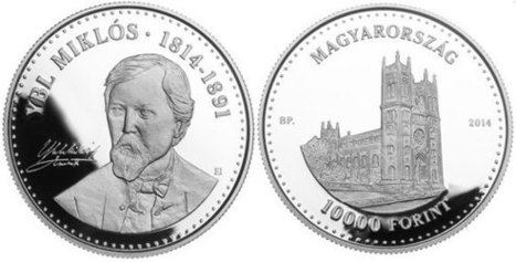 Renowned Hungarian Architect Miklós Ybl Featured on New Coin - Coin Update News | Architecture | Scoop.it