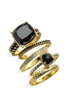 stacking rings   FanPhobia - Celebrities Database   Tattos and Jewelry   Scoop.it