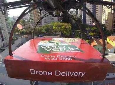 Pizzaria faz entrega com drone pela primeira vez no Brasil | Tecnologia e Comunicação | Scoop.it
