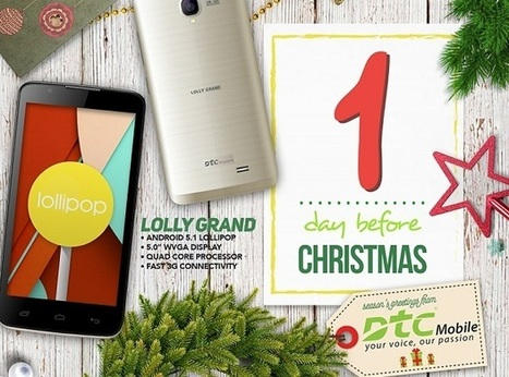 DTC Mobile unveils Lolly, Lolly Grand smartphones | NoypiGeeks | Philippines' Technology News, Reviews, and How to's | Gadget Reviews | Scoop.it