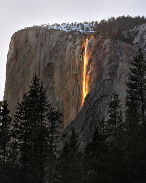 Waterfall of Fire? | Waterfalls | Scoop.it
