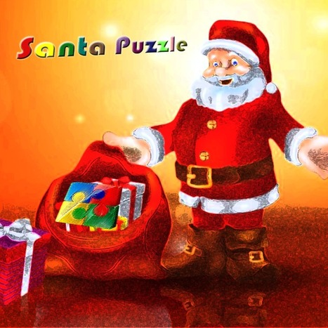 Santa Puzzle - WIth Christmas Wallpaper Jigsaw Puzzle   iOS Apps   Scoop.it