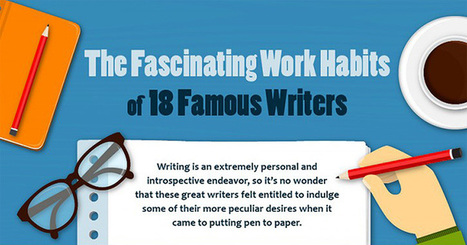 Eccentric Writing Habits of Famous Writers | Ebook and Publishing | Scoop.it