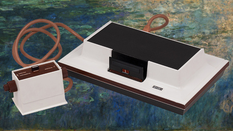 Video Games as Modern Art: MoMA Acquires Pong, Minecraft & First Console - Gizmodo | Game design | Scoop.it