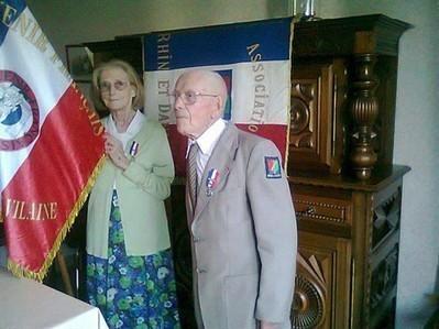 Le couple Maïcas honoré par le Souvenir français , Cesson-Sévigné 19/07/2013 - ouest-france.fr | Souvenir français | Scoop.it