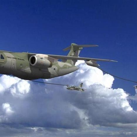 Brasileña Embraer desafía a grandes rivales de la aviación militar   aviation   Scoop.it