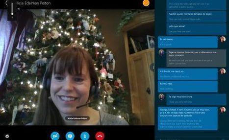 Skype ofrecerá traducción simultánea | Conocimiento y aprendizaje | Scoop.it