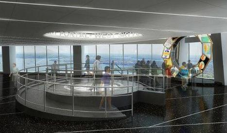 Installation of the Week: One World Observatory Displays Provide Unique Views of NYC   digital signage   Scoop.it