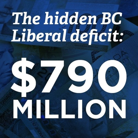 BC Liberal election budget hides $790 million deficit   BC NDP   Restore America   Scoop.it