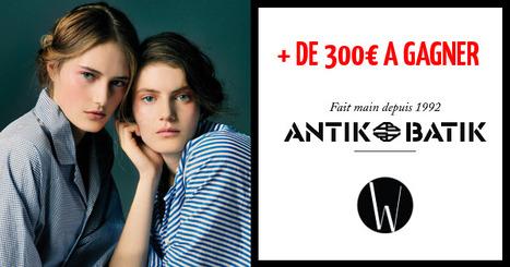 + DE 300€ A GAGNER | Jeu Antik Batik : gagnez 300€ ! | Scoop.it