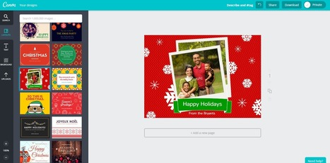 Free Technology for Teachers: Three Tools for Creating Last-minute Holiday Cards | ipad use with financial Literacy | Scoop.it