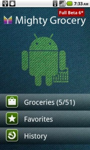 Mighty Grocery Shopping List App for Android | Simple and Powerful Shopping List App for Android | Android Apps | Scoop.it