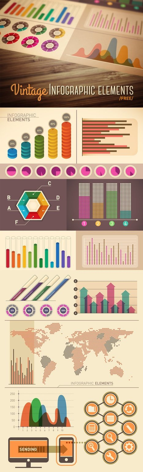 25 Best Free Infographic Elements | CSS Author | Public Relations & Social Media Insight | Scoop.it