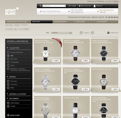 Montblanc se lance sur le e-commerce - Web and Luxe - Blog Luxe ... | e-biz | Scoop.it