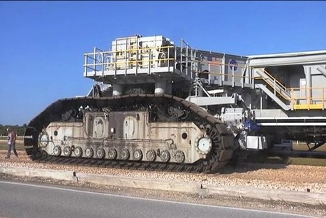 NASA upgrades its giant crawler-transporters - Central Florida News 13 | Aviation News Feed | Scoop.it