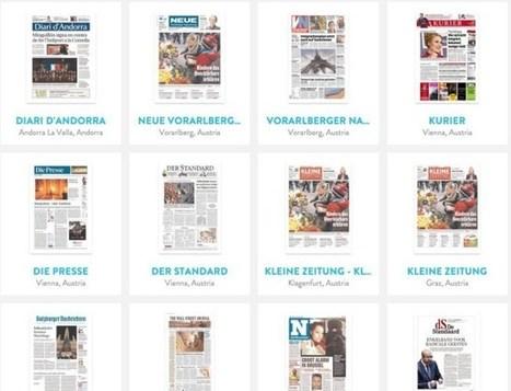 3 ressources en ligne pour suivre l'actualité à travers la presse mondiale – Les Outils Tice | Des ressources numériques pour enseigner | Scoop.it