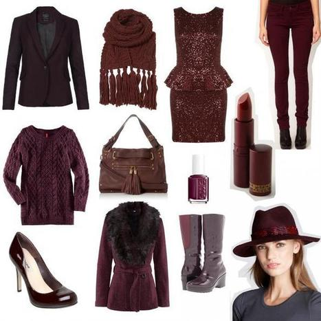 Trend I'm Loving: Oxblood | a fashion moment | Scoop.it