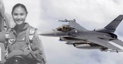 Filipino Proud – US Air Force F-16 Jet Fighter Pilot is a Filipina | Interesting Philippine History, News and Trivias | Scoop.it