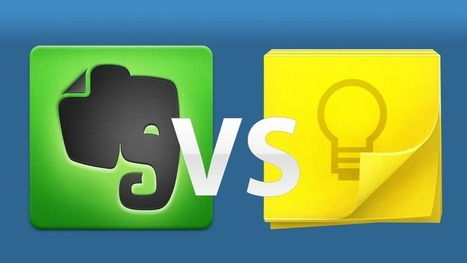 Evernote vs. Google Keep: Which Does More? | Future of Cloud Computing and IoT | Scoop.it