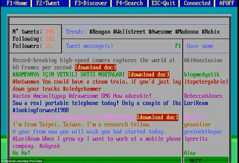 What Google, Twitter, Angry Birds could have looked like in 1980 | Technoculture | Scoop.it