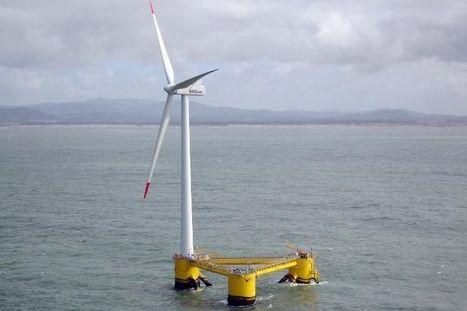 Portugal: avec le flottant, l'éolien se rêve de nouvelles mers | Energies renouvelables | Scoop.it