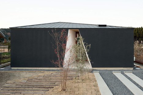daisuke sugawara: kiritoushi house = a simple exterior shell -- an EXCAVATION  ('kiritoushi') that reveals the sequence of space on a range of SCALES   The Architecture of the City   Scoop.it