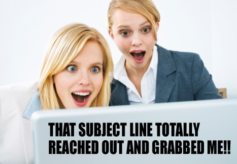 That subject line totally reached out and grabbed me! | funny-marketing-ads | Scoop.it