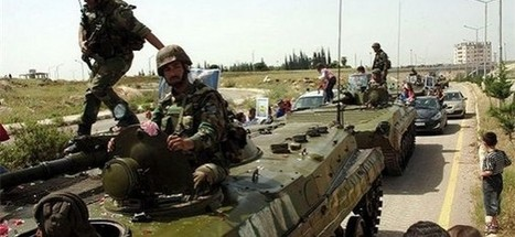 Syrian army defeats terrorists in Dara'a province - | news | Scoop.it