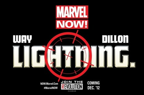 Daniel Way And Steve Dillon Teaming For Teased 'Lightning' Marvel NOW Title In December | Comic Books | Scoop.it