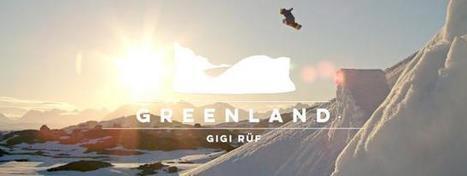 Perceptions : Gigi Rüf surfe un #iceberg au #Groenland   meltyXtrem #video   Hurtigruten Arctique Antarctique   Scoop.it