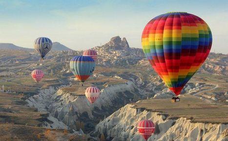 Hot Air Balloons at Cappadocia, Turkey   air   Scoop.it