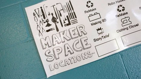 Pop Up and Make: Student-Designed and Facilitated Makerspaces | Inquiry Learning in the Library | Scoop.it