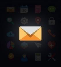 Mail Envelope Newsletter Flat Icon Design – Icons – GFXNERDS ... | gfxnerds | Scoop.it