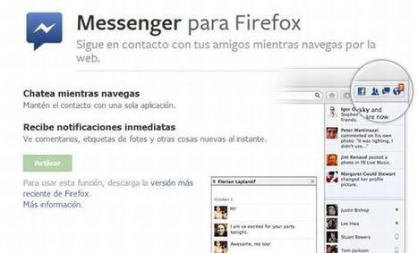 Anunciado oficialmente el lanzamiento de Facebook Messenger para Firefox.-   Google+, Pinterest, Facebook, Twitter y mas ;)   Scoop.it