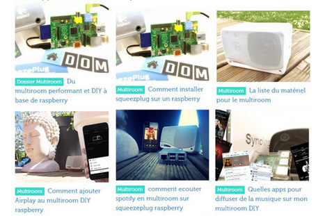 Du multiroom fait maison grâce au Raspberry Pi | Multiroom audio & video | Scoop.it