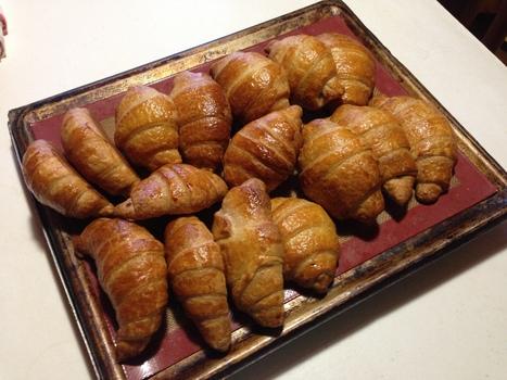 My wild yeast Croissants | Real Deal Food | Scoop.it