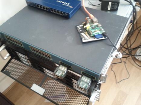 Raspberry Pi tries to blend in with its bigger siblings: http://yfrog.com/oc5c2buj | Raspberry Pi | Scoop.it