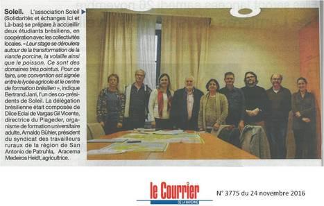 Partenariat du lycée agricole de Laval avec le Brésil | Le lycée agricole de Laval | Scoop.it