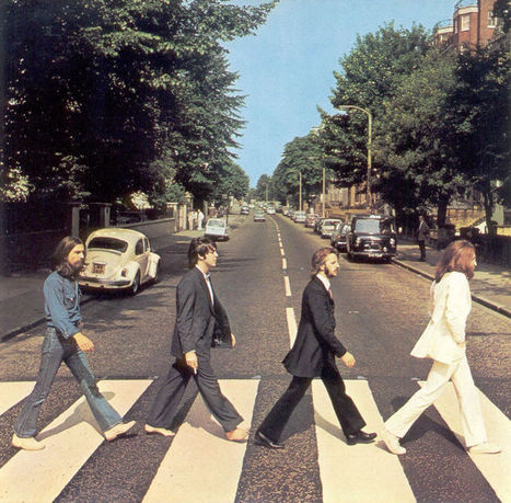 Il y a 45 ans, les Beatles traversaient Abbey Road | Paper Rock | Scoop.it