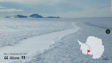 First woman to cross Antarctic : I've never felt so alone | NYL - News YOU Like | Scoop.it