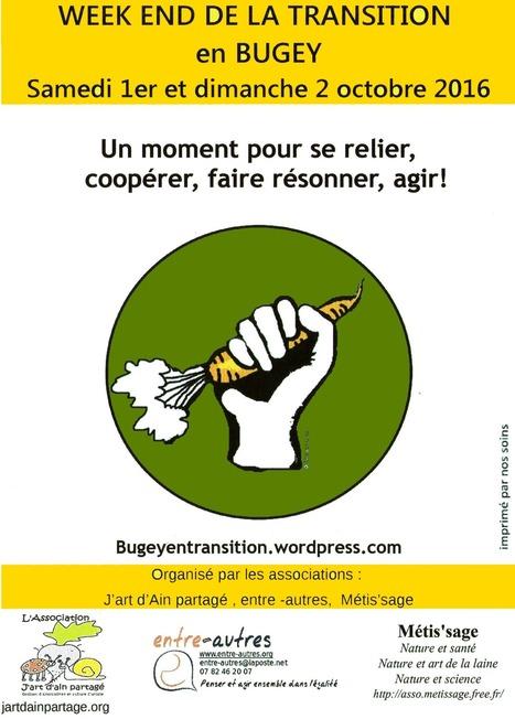 Ain (01) : Transition en Bugey 1er et 2 octobre à Belley   L'écologie politique dans l'Ain   Scoop.it