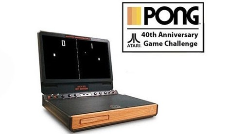 Atari celebrates 40 years of Pong with new, free iOS Pong game, custom portable Xbox 360   Vade RETROGames sans tanasse!   Scoop.it
