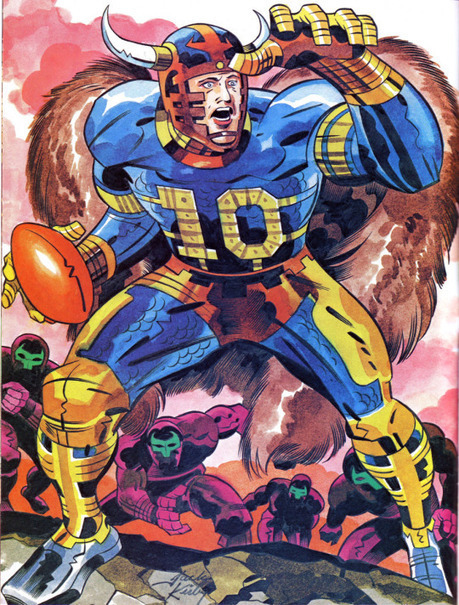 "That Time the NFL Paid Jack Kirby to Design an Intergalactic Super Bowl | Jack ""King"" Kirby 