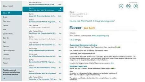Configuring Mail in Windows 8 | Windows 8 free Anti virus | Scoop.it