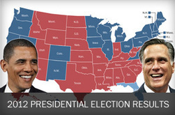 2012 Presidential Election Results - The Washington Post | The 2012 POTUS Election | Scoop.it