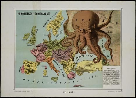 Cartes satiriques à travers l'histoire | La boite verte | cartography & mapping | Scoop.it