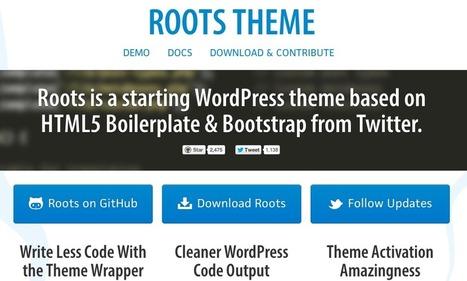 5 #frameworks gratis para #WordPress | Diseño y Recursos Web | Scoop.it