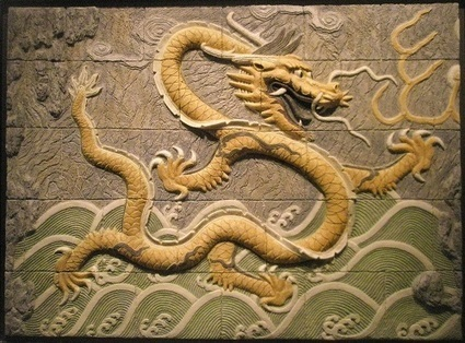 El Dragón en la mitología de China | Fantasía Oriental: Dioses y dragones del la Antigua  China | Scoop.it